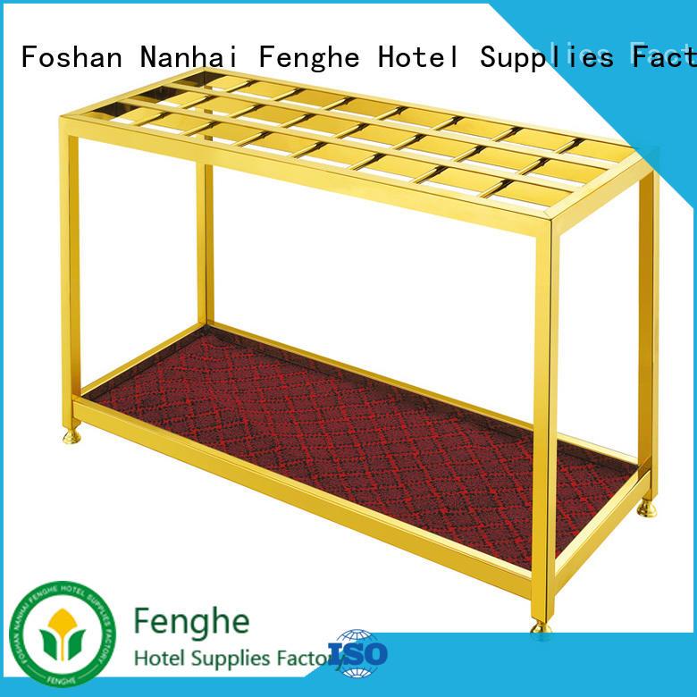 Fenghe metal umbrella holder wholesaler trader for hotel