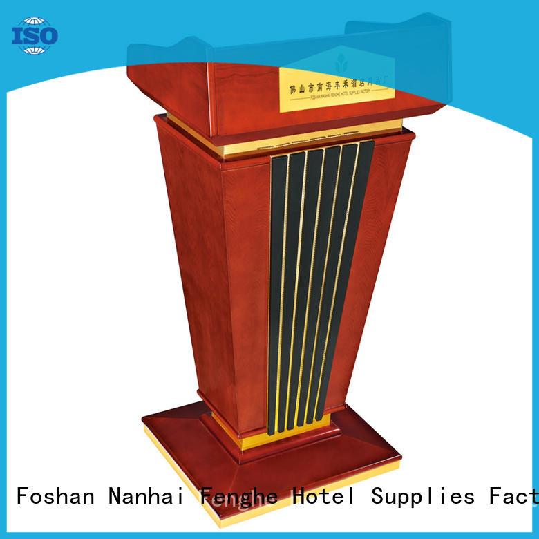 Fenghe custom pulpits podium for bankquet halls