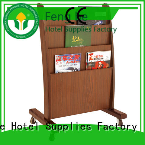 Fenghe best quality newspaper stand stand for importer