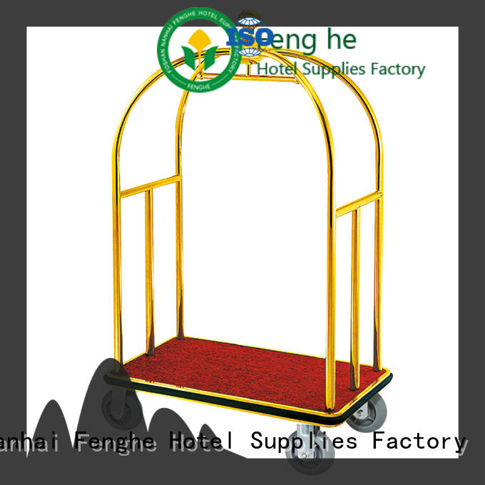 Fenghe baggage bellman cart source now for hotel