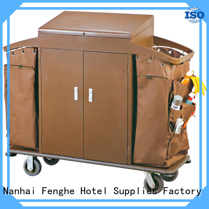 Fenghe housekeeping hotel maid cart inquire now for importer