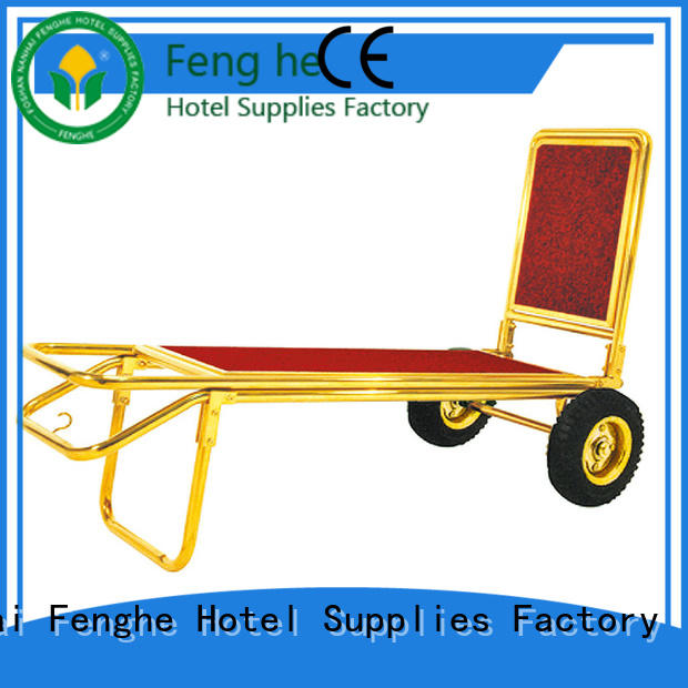 Fenghe truck vintage hotel luggage cart order now for motel