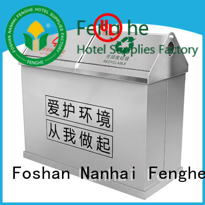 Fenghe deluxe outdoor waste bin waste for public house