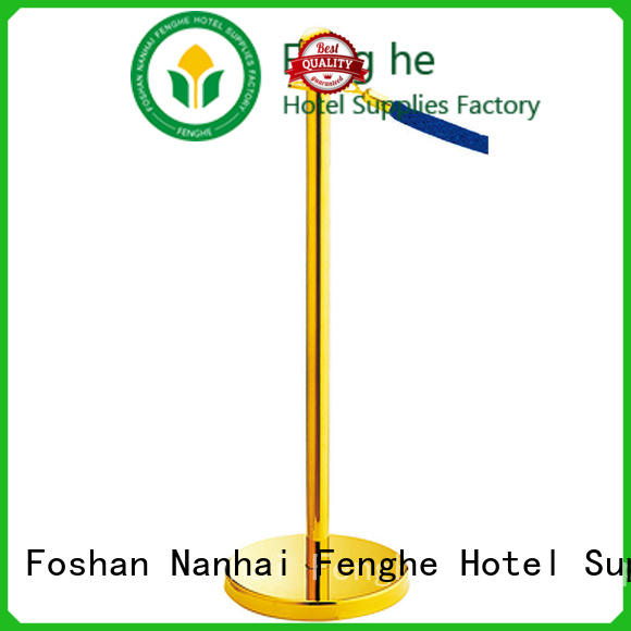 Fenghe new post and rope barrier stanchion for wholesale