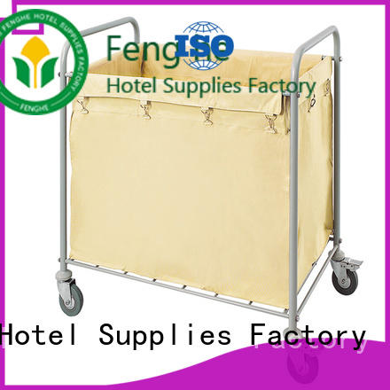 Fenghe professional hotel housekeeping maid cart trolley factory for hotel