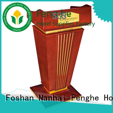 Fenghe foot lectern source now for hotel industry