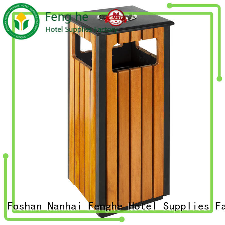 deluxe outdoor garbage bins round manufacturer for hotel