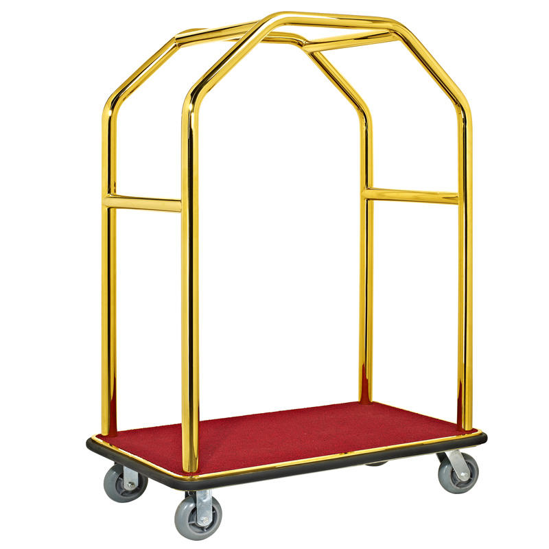 high reliability hotel luggage cart portable order now for gym-1