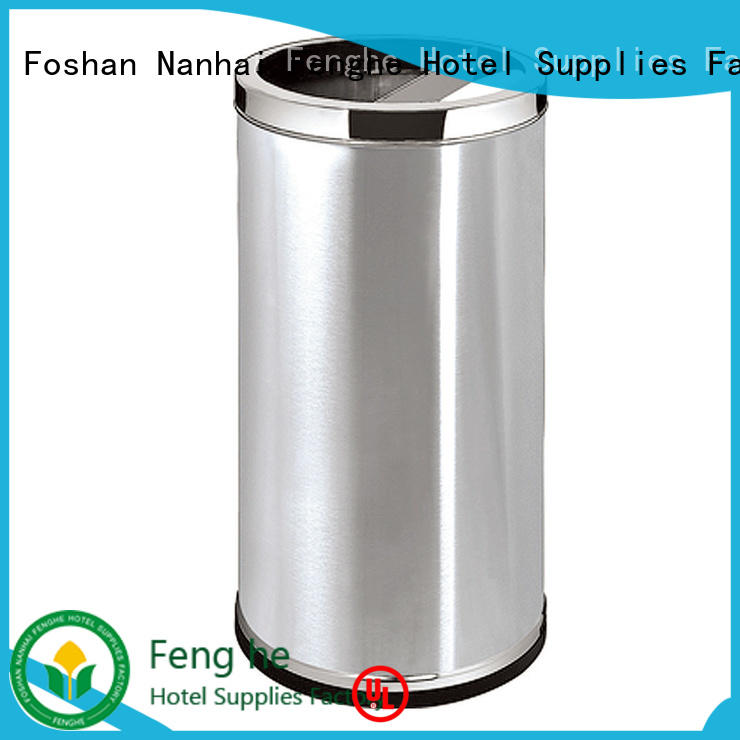 Fenghe 5 star service outside ashtray bins get latest price for guest rooms