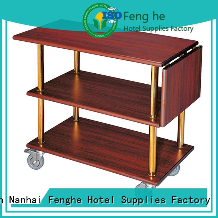 Fenghe elegant wine cart awarded supplier for hotel