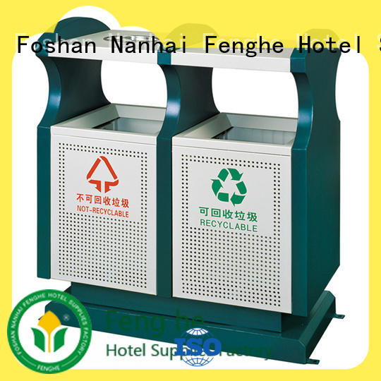 Fenghe deluxe outdoor garbage bins factory for hotel