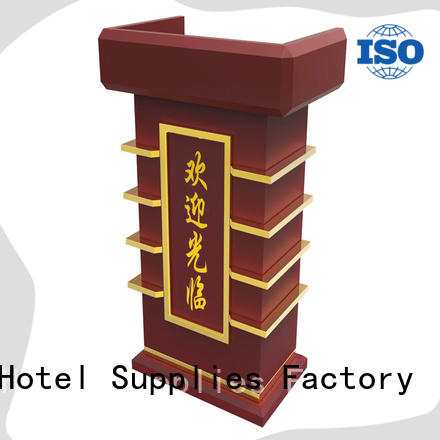 5 star service wooden lectern pedal factory for conferences
