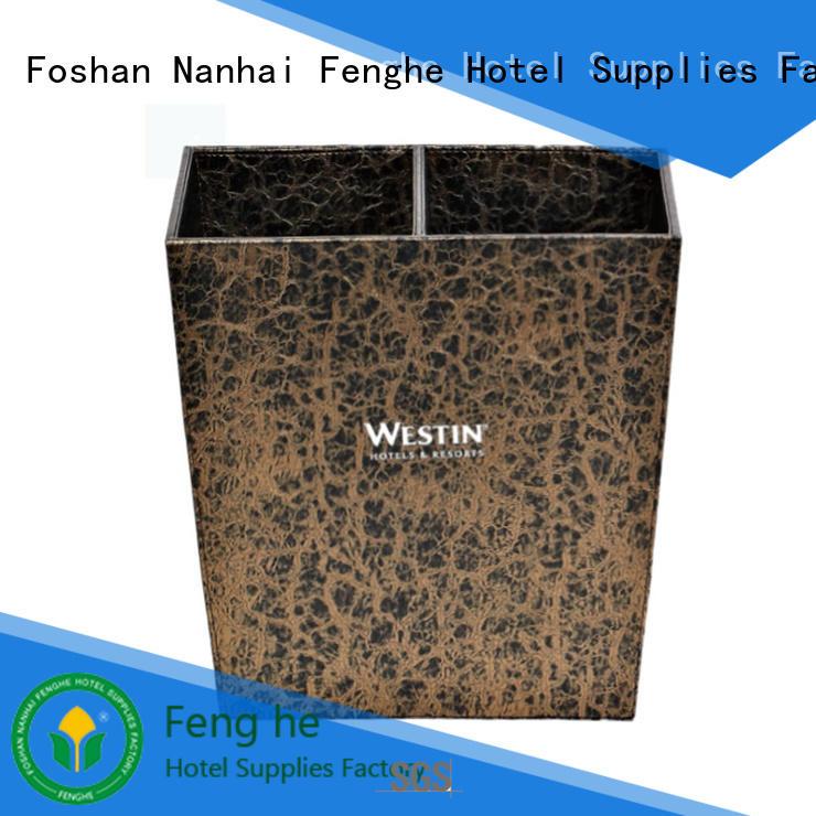 Fenghe 10l hotel trash bin factory for hotel