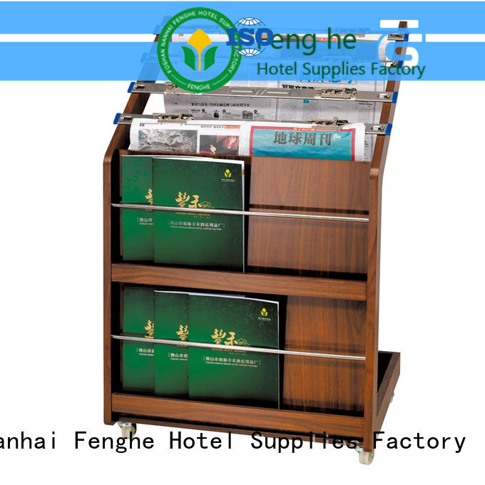 best quality newspaper stand for hotel iron purchase online for guest rooms