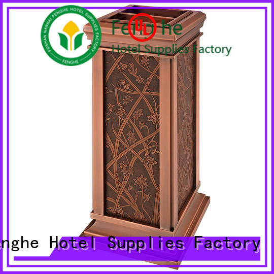 Fenghe luxury cigarette disposal bin get latest price for hotel