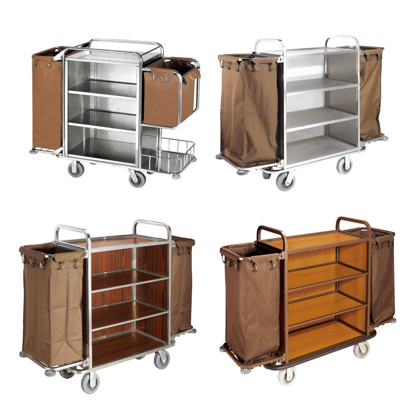 Fenghe maid hotel cleaning cart trader for hotel-1