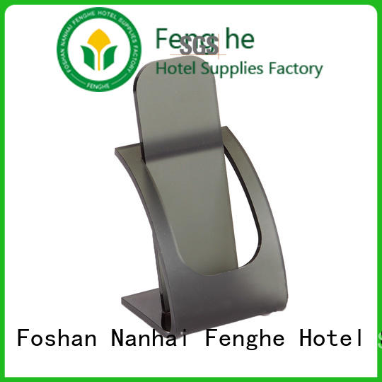 Fenghe deluxe wholesale hotel supplies rack for public house