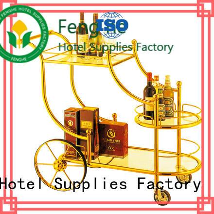 Fenghe unique design liquor cart awarded supplier for hotel