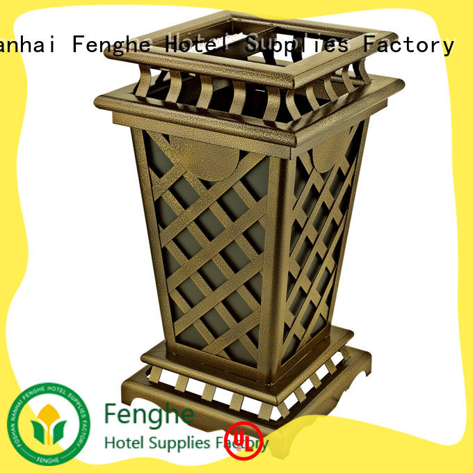deluxe outdoor bin park manufacturer for lobby