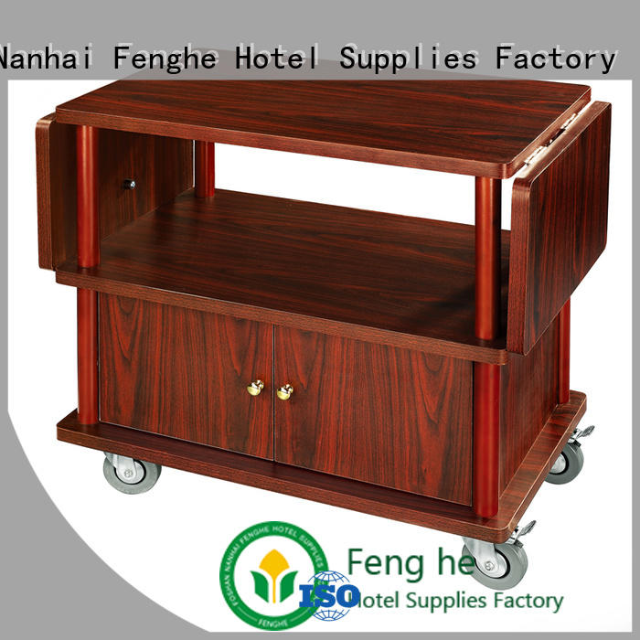 Fenghe bar liquor trolley awarded supplier for wholesale