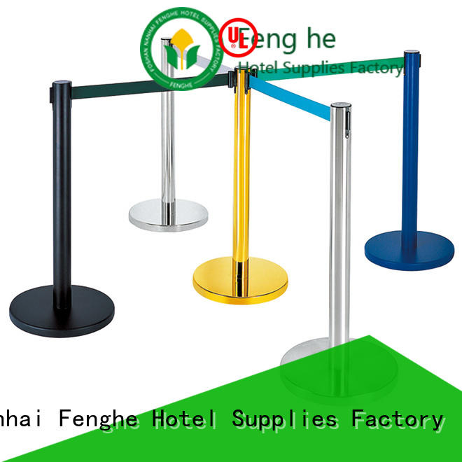 Fenghe new rope barrier design for hotel