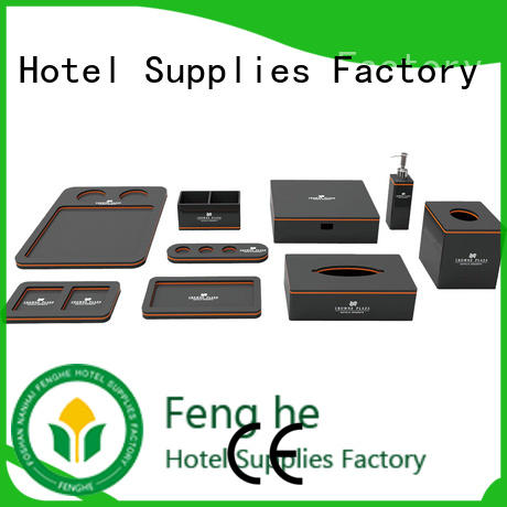 Fenghe dedicated service acrylic bathroom accessories overseas trader for hotel