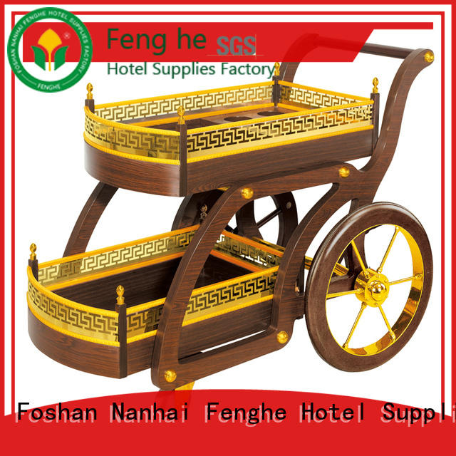 Fenghe elegant serving trolley leading company for wholesale