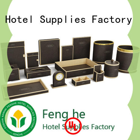 unique design leather file folder customized trader for guest house