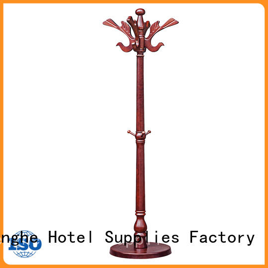 Fenghe low moq cloth hanger stand source now for conferences