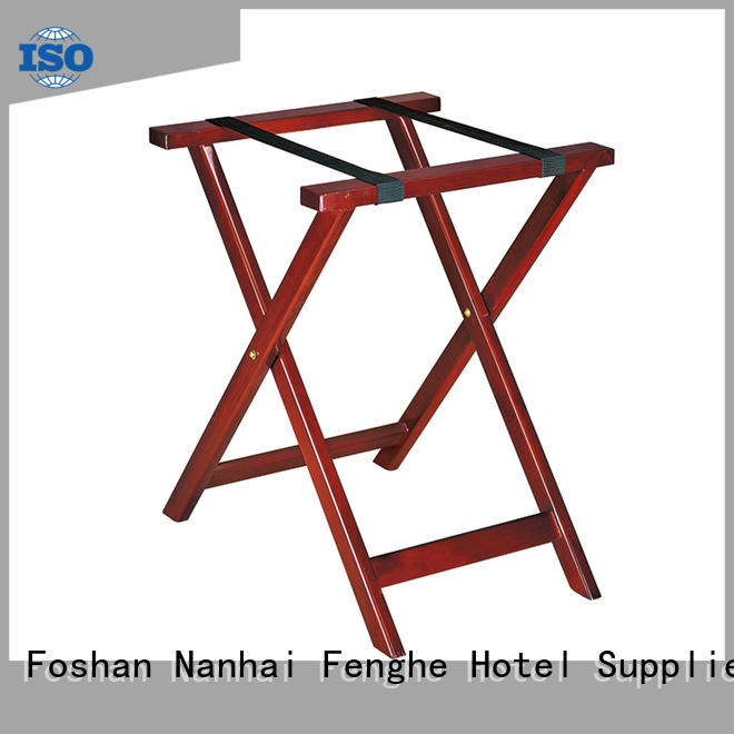 Fenghe dedicated service hotel luggage racks folding solution expert for gym