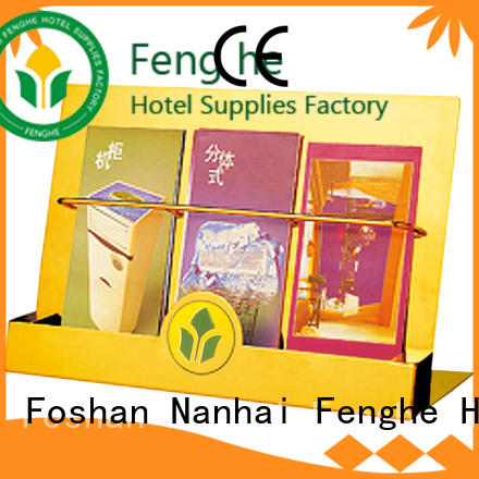 Fenghe newspaper hotel newspaper rack quick transaction for importer