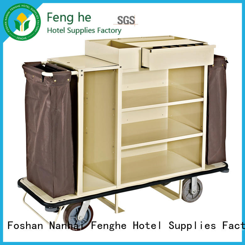 Fenghe service hotel laundry trolley trader for wholesale