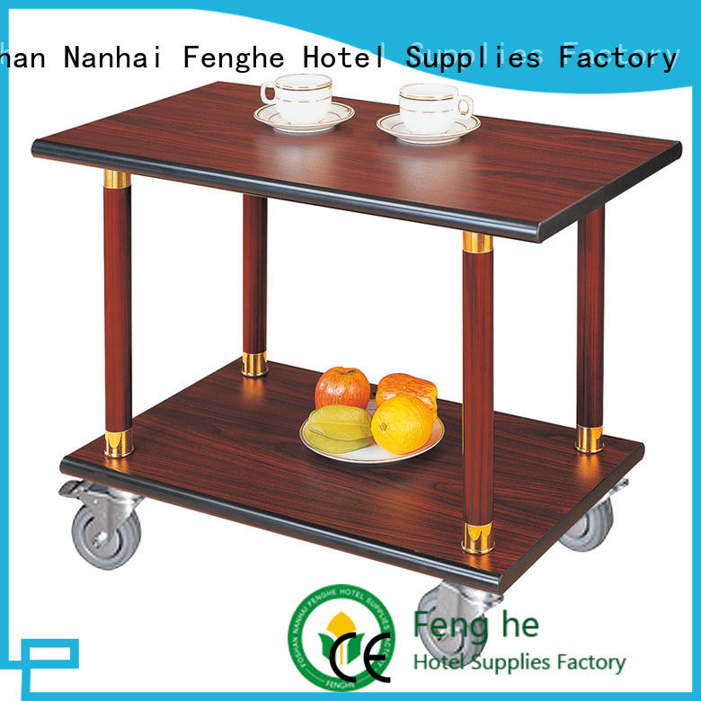 hotel serving trolley hand for wholesale Fenghe