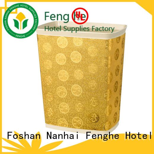 Fenghe stainless hotel trash bin quick transaction for importer