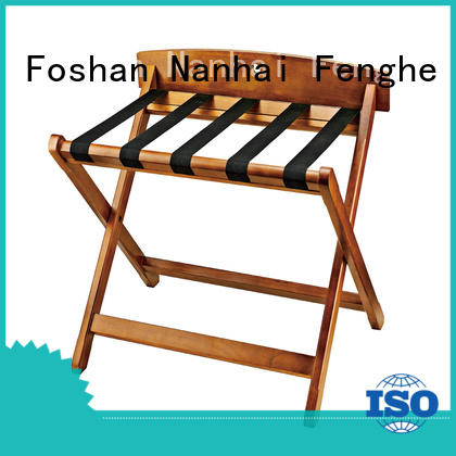 Fenghe high reliability‎ vintage hotel luggage rack solution expert for gym