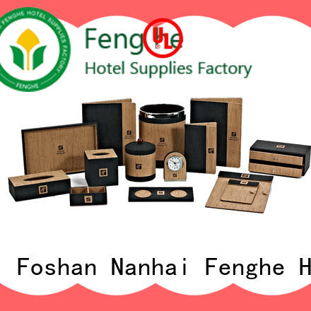 Fenghe new leather tissue box cover awarded supplier for guest house