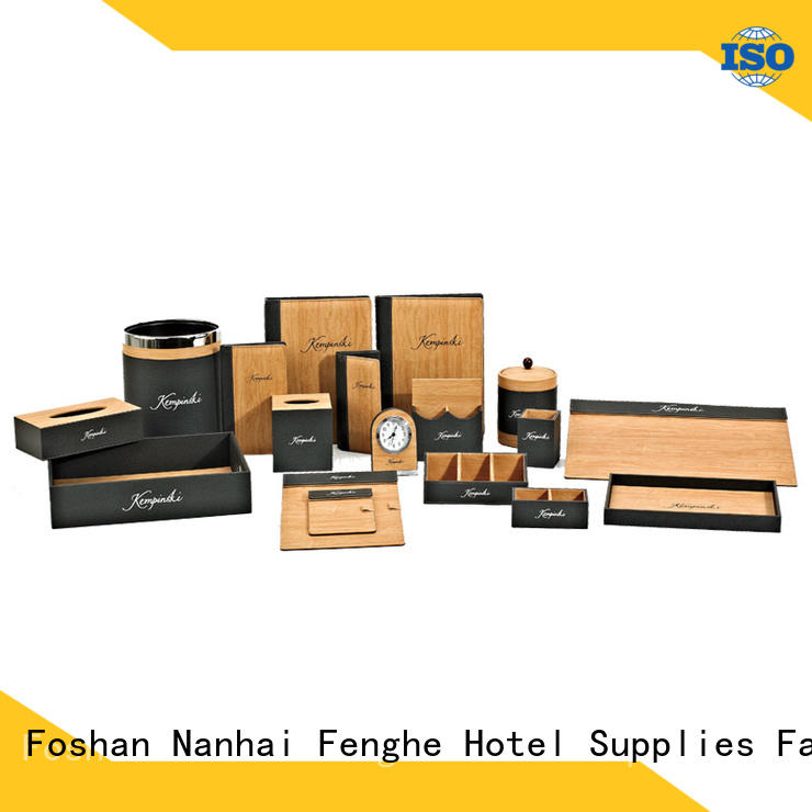 Fenghe yellow bathroom amenity tray leading company for hotel