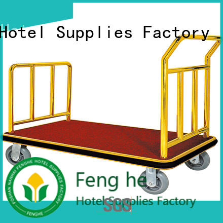Fenghe bellman hotel luggage carrier overseas trader for hotel