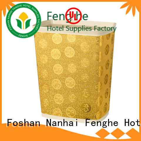 Fenghe guest hotel trash bin purchase online for wholesale