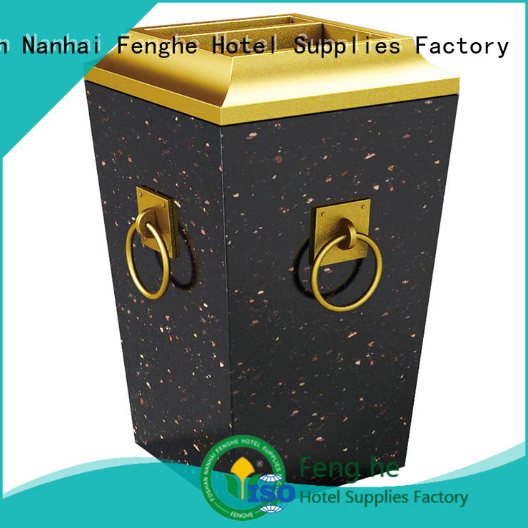 Fenghe metal smoking bin overseas market