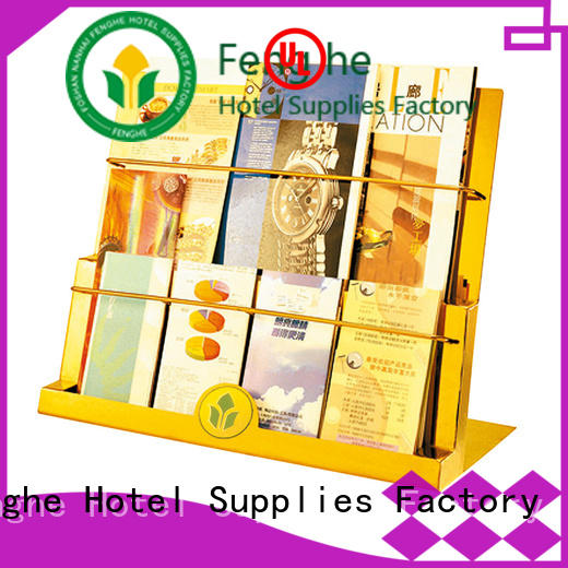 Fenghe affordable newspaper stand purchase online for guest rooms