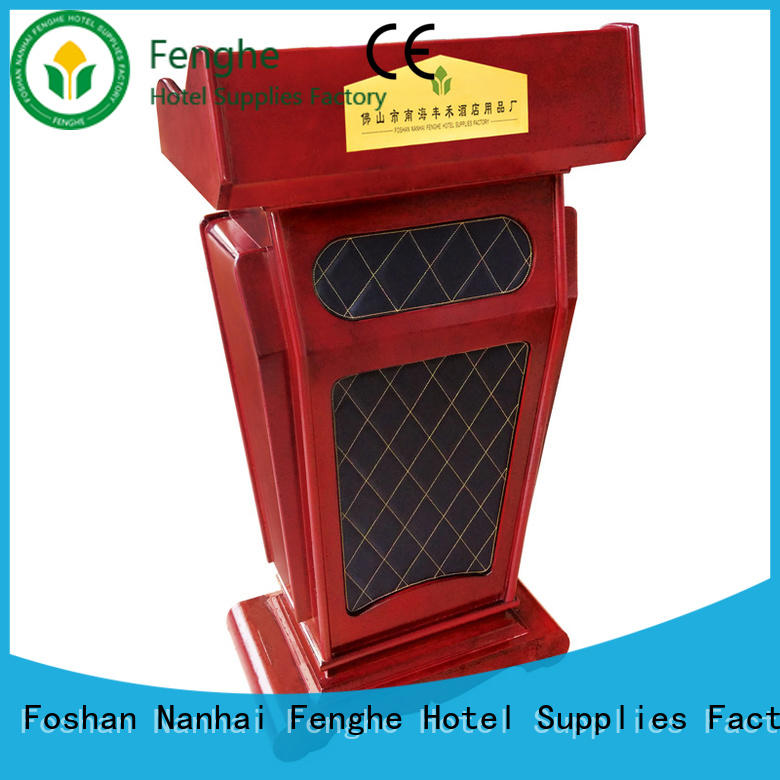 low moq pulpit stand pedal manufacturer for bankquet halls