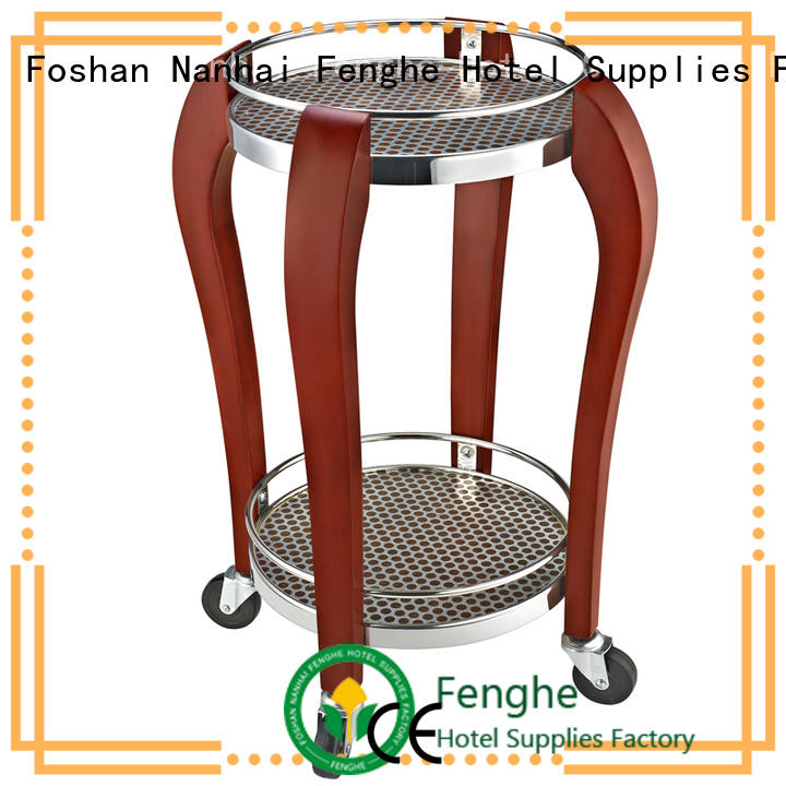 Fenghe service wine trolley leading company for guest house